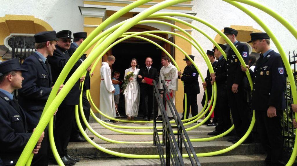 Hochzeit Von Burgermeister Christian Hirtreiter Freiwillige